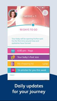 Pregnancy App, Tracker & Countdown - Bounty screenshot 4