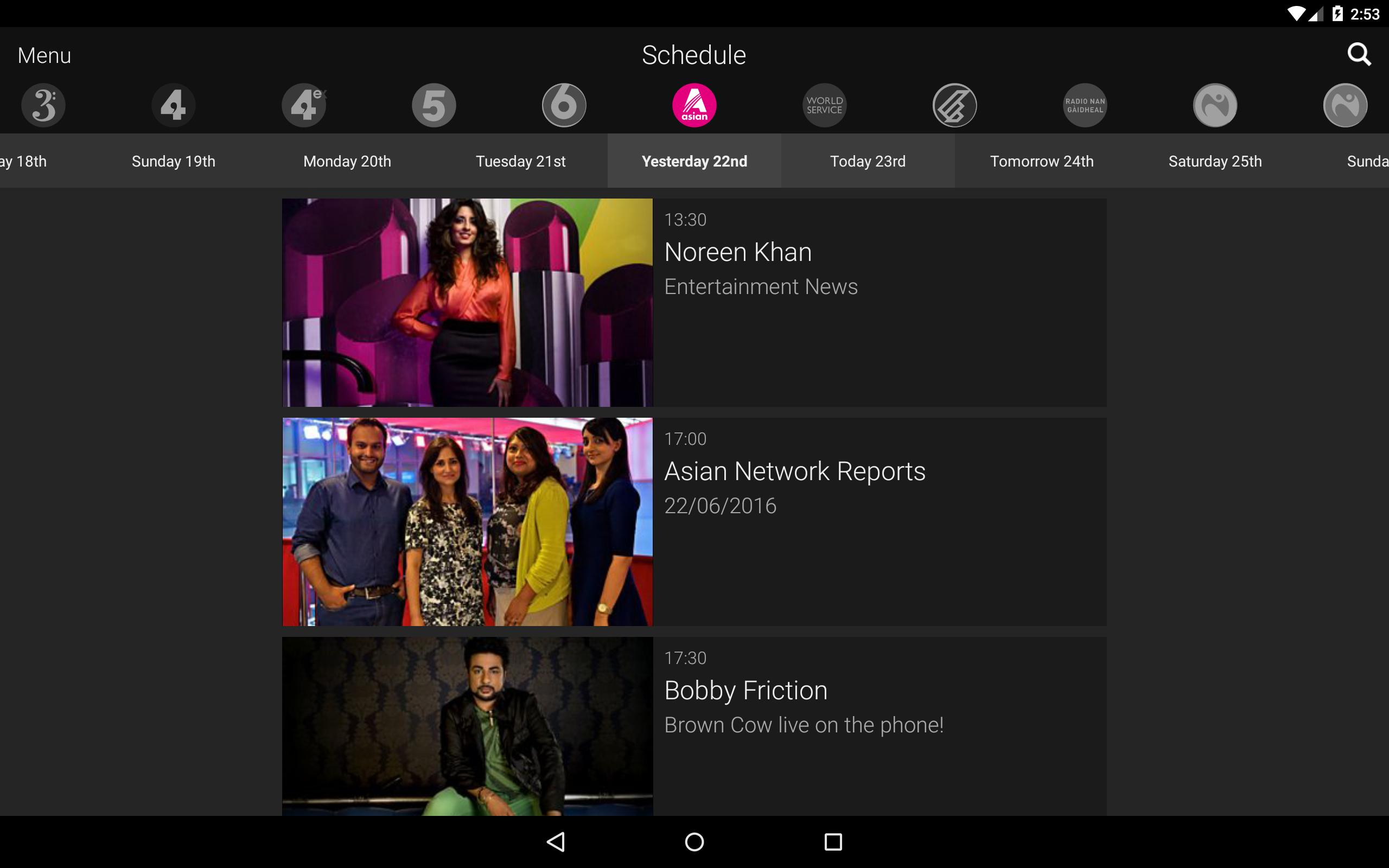 BBC iPlayer Radio for Android - APK Download