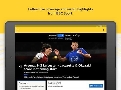 BBC Sport screenshot 11