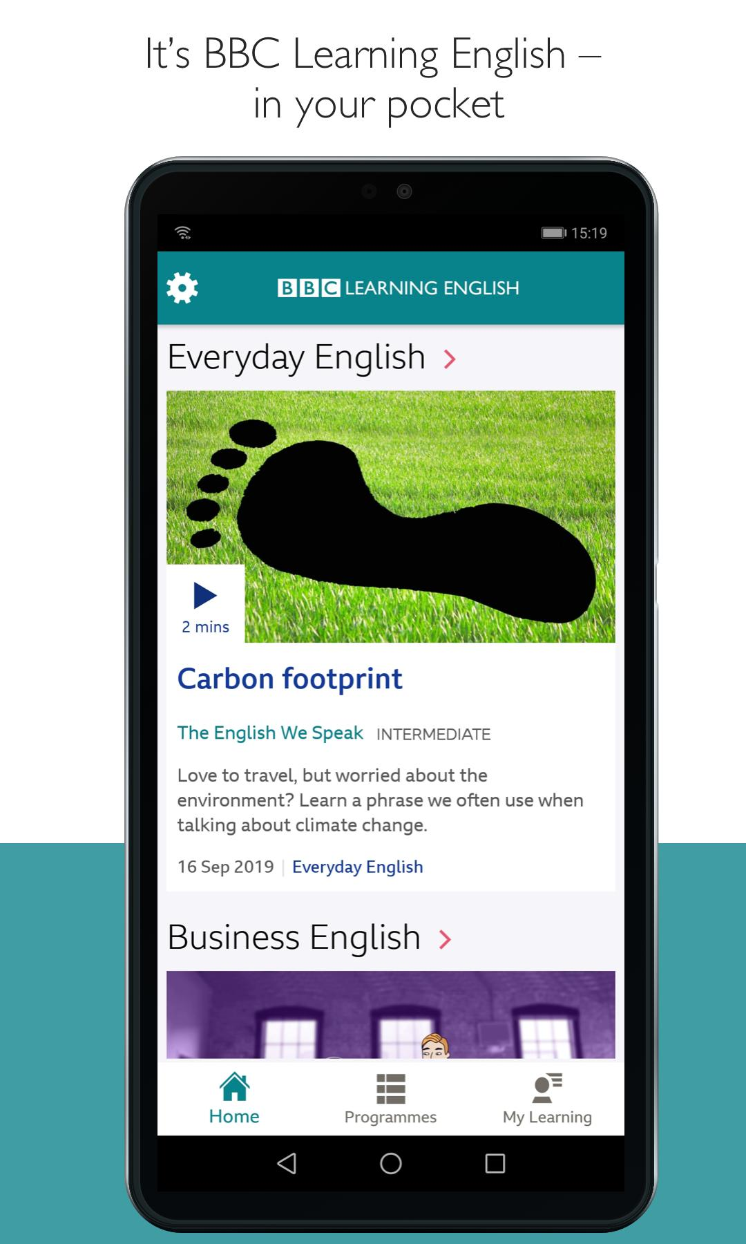 Bbc learning english on the app store.