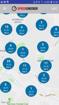 Ujian Kelajuan Internet & Wi-Fi oleh SpeedChecker syot layar 2