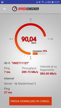 Poster Test di velocità Internet e Wi-Fi di SpeedChecker