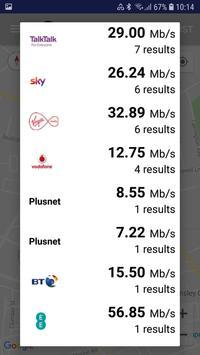 3 Schermata Test di velocità Internet e Wi-Fi di SpeedChecker