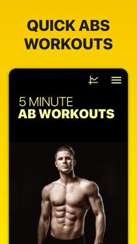 5 Minute Ab Workouts स्क्रीनशॉट 10