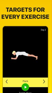 5 Minute Ab Workouts स्क्रीनशॉट 1
