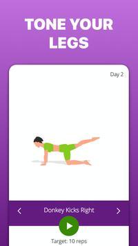 5 Minute Butt and Legs screenshot 8