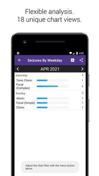 Simple Seizure Diary captura de pantalla 3