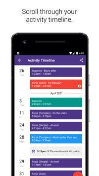 Simple Seizure Diary captura de pantalla 1