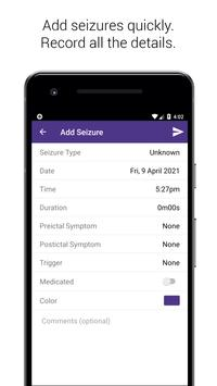 Simple Seizure Diary captura de pantalla 5