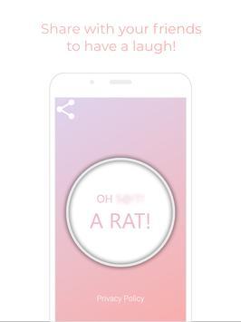 Oh S***, A Rat! - Meme Button screenshot 1