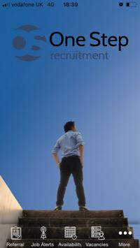 One Step Recruitment poster