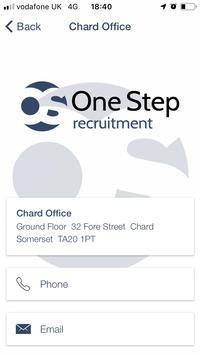 One Step Recruitment screenshot 5