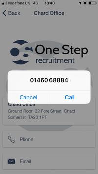 One Step Recruitment screenshot 6