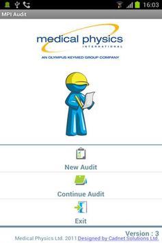 MPI Equipment Audit poster