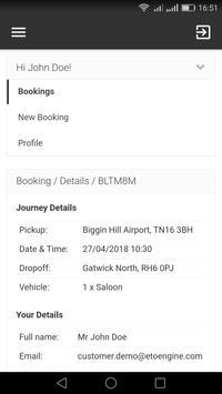 MK Executive Travel Passenger screenshot 2