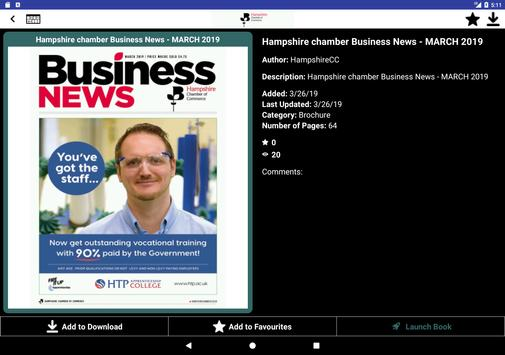 Hampshire Chamber of Commerce screenshot 1