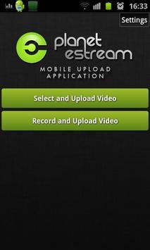 Planet eStream Upload App v2 poster