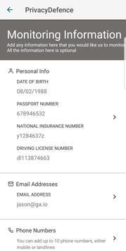 PrivacyDefence screenshot 1