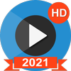 Full HD Video Player - HD Video Player-icoon