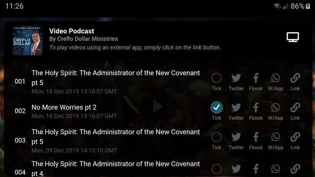 Creflo Dollar's Sermons, Podcasts & E-Books скриншот 10