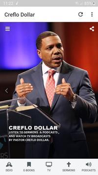 Creflo Dollar's Sermons, Podcasts & E-Books постер