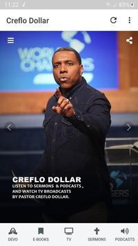 Creflo Dollar's Sermons, Podcasts & E-Books скриншот 1