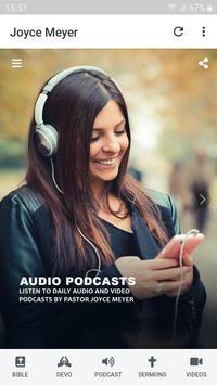 Joyce Meyer's Podcasts & Devotionals скриншот 8