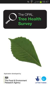 OPAL Tree Health Survey poster