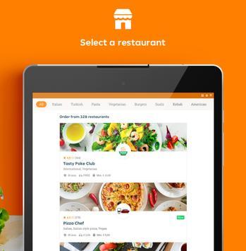 7 Schermata Takeaway.com - Order Food