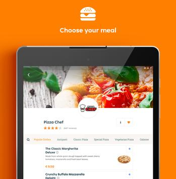 8 Schermata Takeaway.com - Order Food