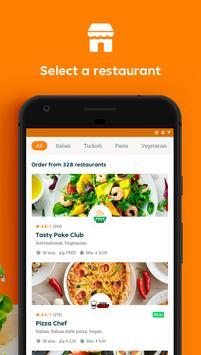 1 Schermata Takeaway.com - Order Food
