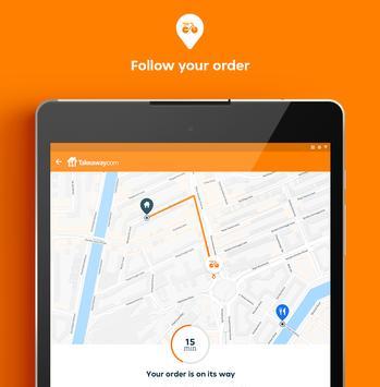 15 Schermata Takeaway.com - Order Food
