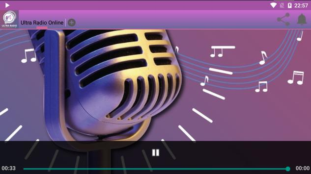 Ultra Radio Online screenshot 1
