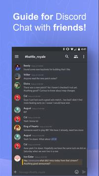 Guide for Discord Chat for Communities and Friends poster