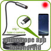 endoscope app for android - endoscope camera usb icon