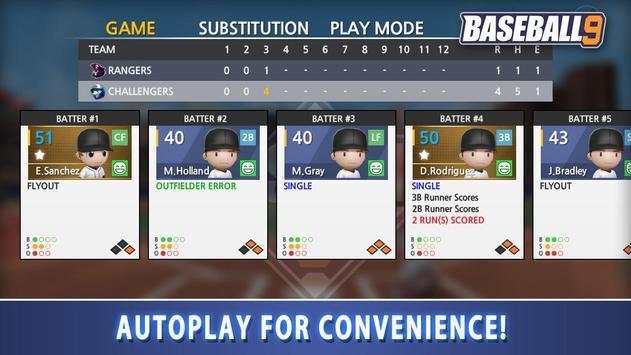 BASEBALL 9 تصوير الشاشة 4