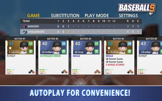BASEBALL 9 تصوير الشاشة 17