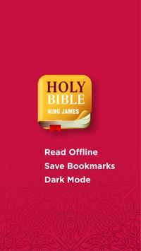 Holy Bible - King James Version - (KJV BIBLE) Free ポスター