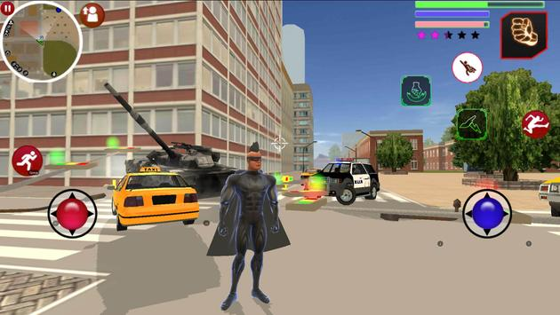 Super Hero Us Vice Town Gangstar Crime poster