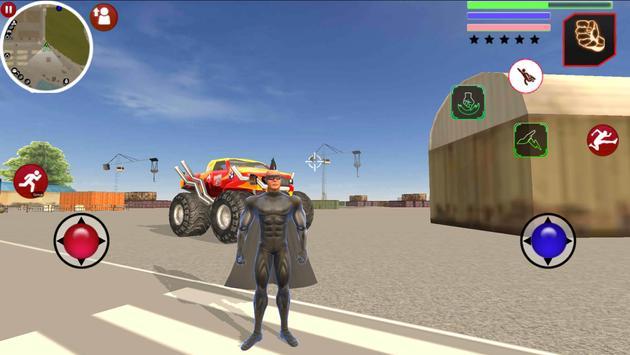 Super Hero Us Vice Town Gangstar Crime screenshot 1