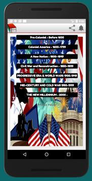 U.S  HISTORY TIMELINE poster