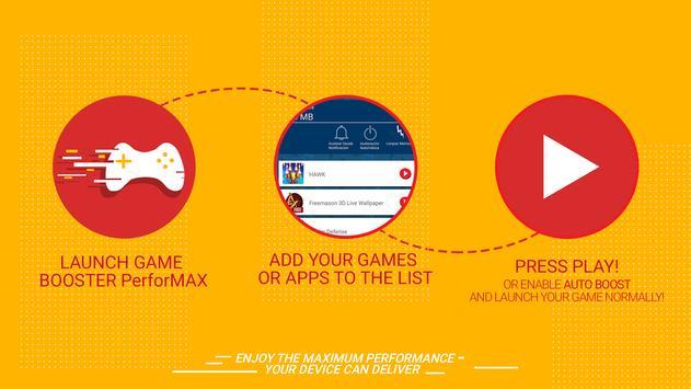 Game Booster PerforMAX screenshot 1