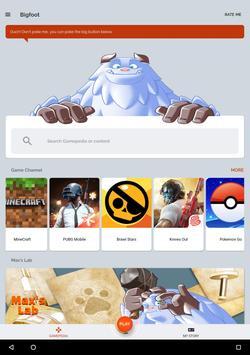 Bigfoot - Assistant de jeu pour de nombreux jeux capture d'écran 23