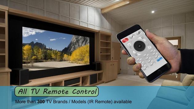 Universal TV Remote Control - Remote TV for All screenshot 2