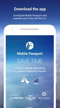 Mobile Passport poster
