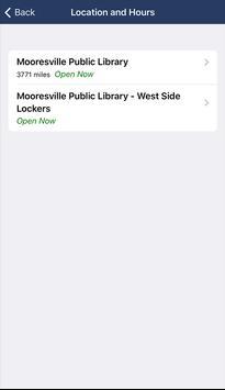 Mooresville Public Library (NC) screenshot 4