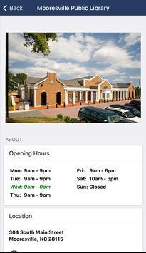 Mooresville Public Library (NC) screenshot 5