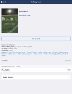 Mooresville Public Library (NC) screenshot 9