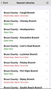 Bruce County Public Library screenshot 4