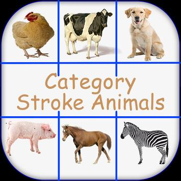 Stroke Animals Memory poster